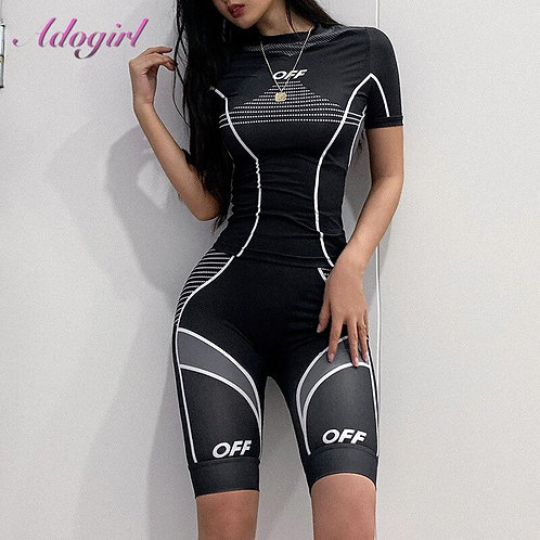 Sport Two Piece Set Outfit Fitness