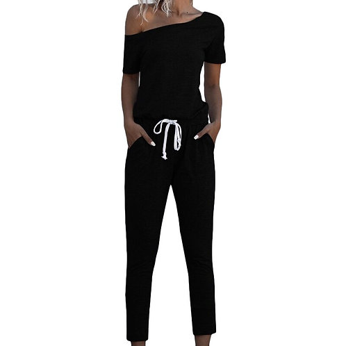 VICABO Sports Casual Jumpsuit Women Elastic Fashion Women Clothing