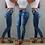 Thumbnail: High Waist Jeans for Women Slim Stretch Denim Jean Bodycon Skinny Push Up Jeans