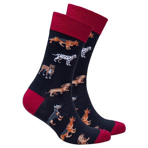 Men's Multi Dogs Socks