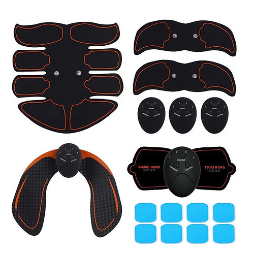 Electric ABS Wireless Muscle Simulators Smart Fitness