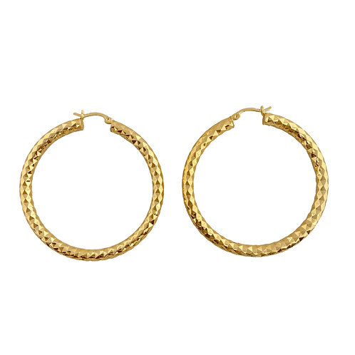 Textured Hoops 40mm