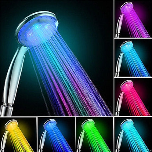 LED Anion Shower SPA Shower Head Pressurized Water