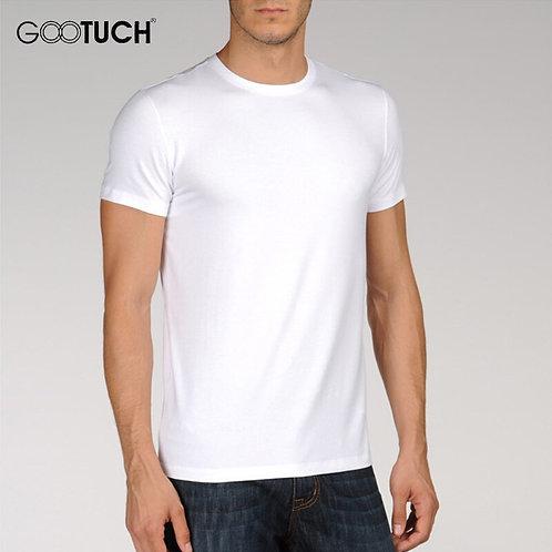 Mens Undershirt Bottoming Shirt Modal Casual T Shirt