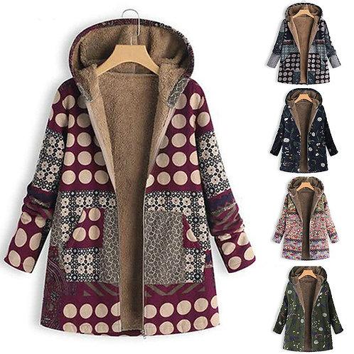 Female Jacket Plush Coat Women's