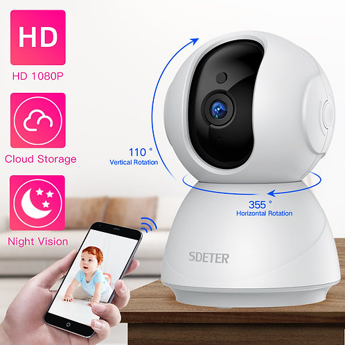 SDETER 1080P 720P IP Camera Security Camera WiFi Wireless CCTV