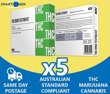 (x5) Cannabis, THC, Marijuana