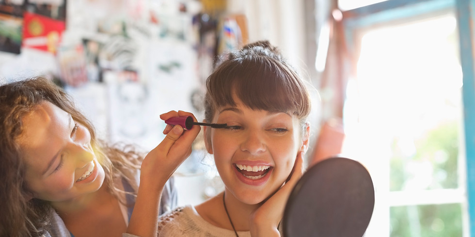 TIENER 10-12jaar  Workshop Haar en Make-up