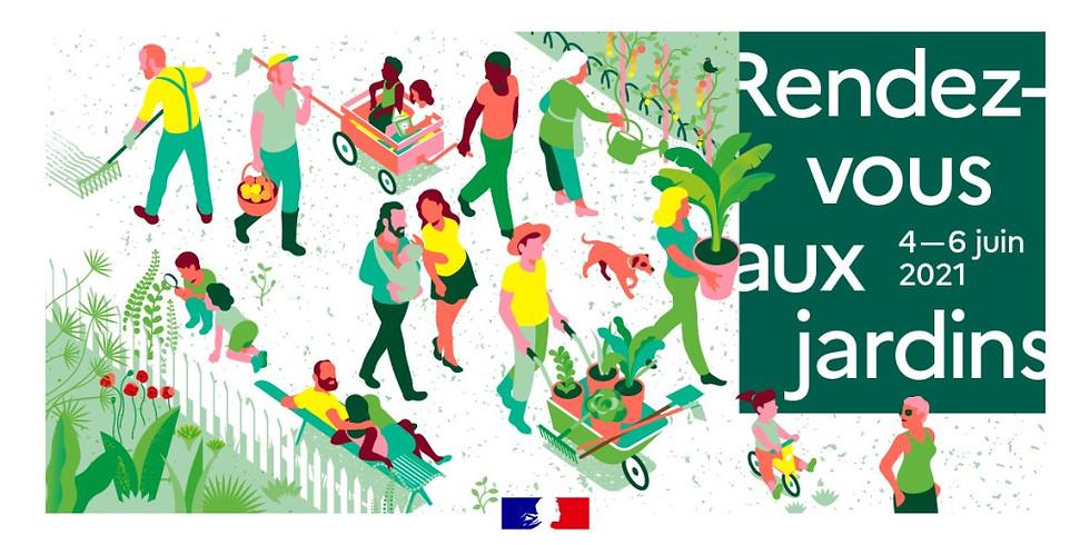 RDV aux Jardins 4-6 juin 2021 à Six-fours