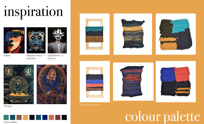 Inspiration and Colour Palette