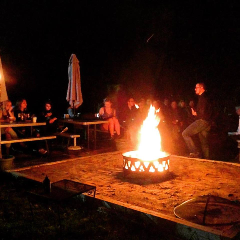 Spooky fire