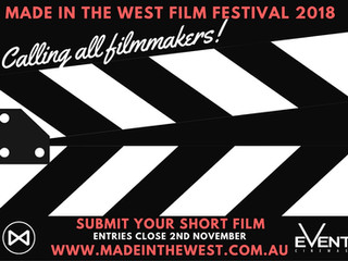 Open for submissions: 2018 Made in the West Film Festival