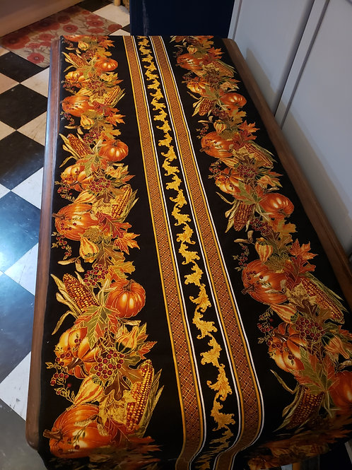 Black Pumpkin Table Runner