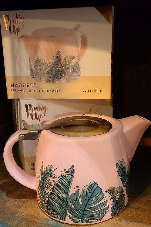 Tropical Tea Pot