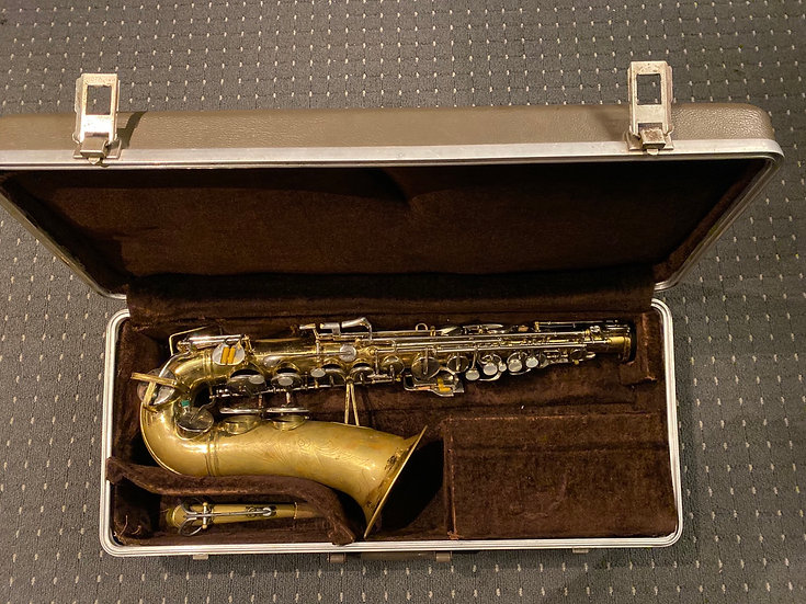 1955 Buescher Aristocrat Alto Saxophone