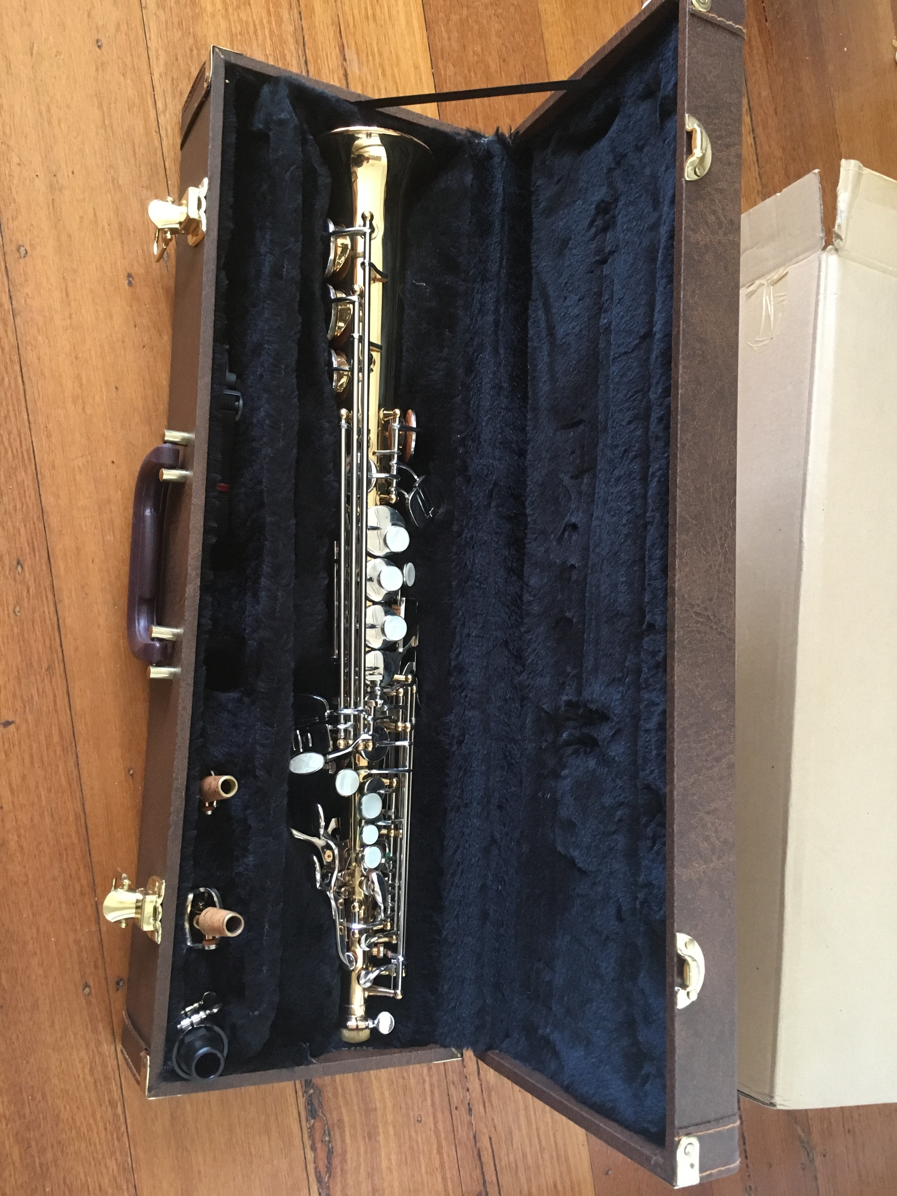 *SOLD* Rex student soprano saxophone