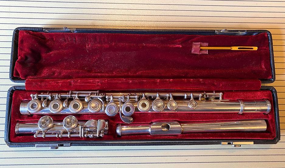 Yamaha YFL-471 Intermediate Solid Silver Flute
