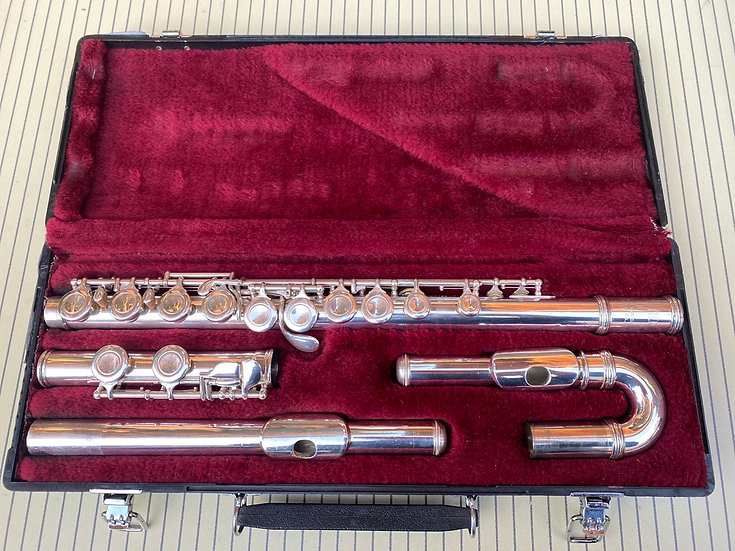 Jupiter SFL-511E curved and straight headjoint Flute