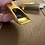 Thumbnail: Mark Spencer Tenor Saxophone Mouthpiece - gold plated