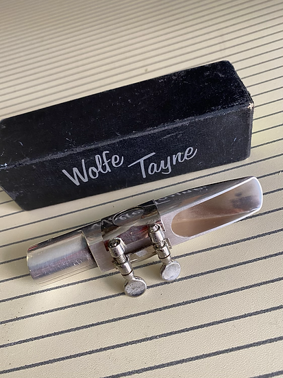 Wolf Tayne 8 Tenor Saxophone Mouthpiece