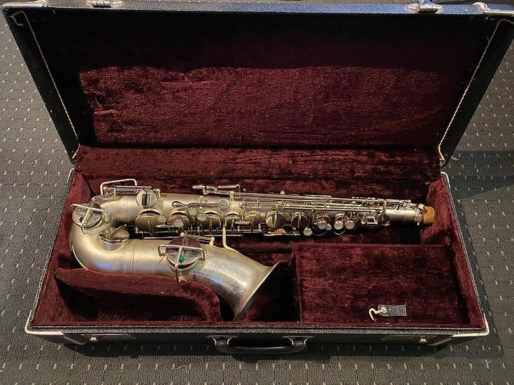 1925 Martin Handcraft Alto Saxophone - satin Silverplate