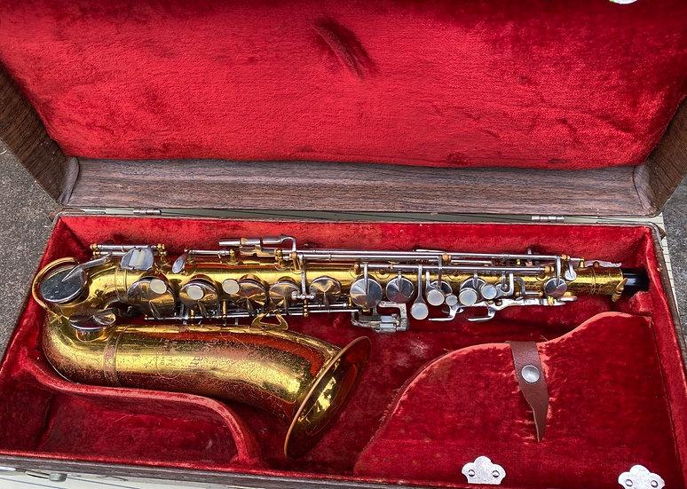 1965 The HN White Co. Cleveland Eb Alto Saxophone