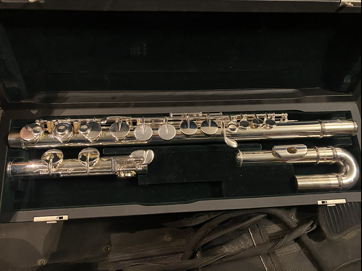 Pearl PFA-201 Alto Flute w curved head