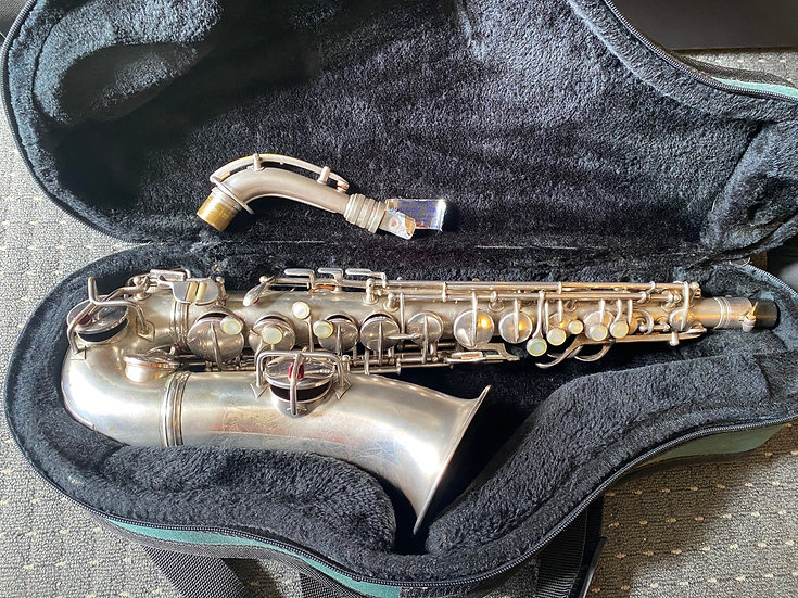"Conn New Wonder II ""Chu Berry"" Alto Saxophone - gold wash bell"