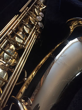 Used saxophone