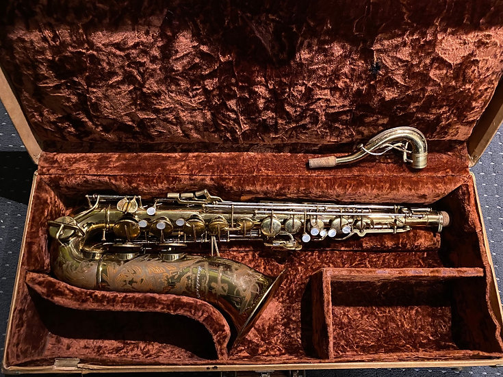 1948 Buescher Top Hat & Cane Tenor Saxophone