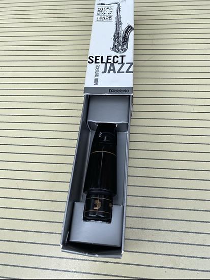 D'addario Jazz 9M Tenor Saxophone Mouthpiece