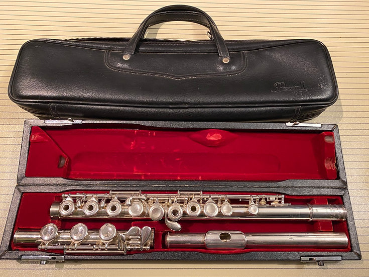*SOLD * Pearl PF-521 Intermediate Flute w/ Solid silver headjoint and B foot