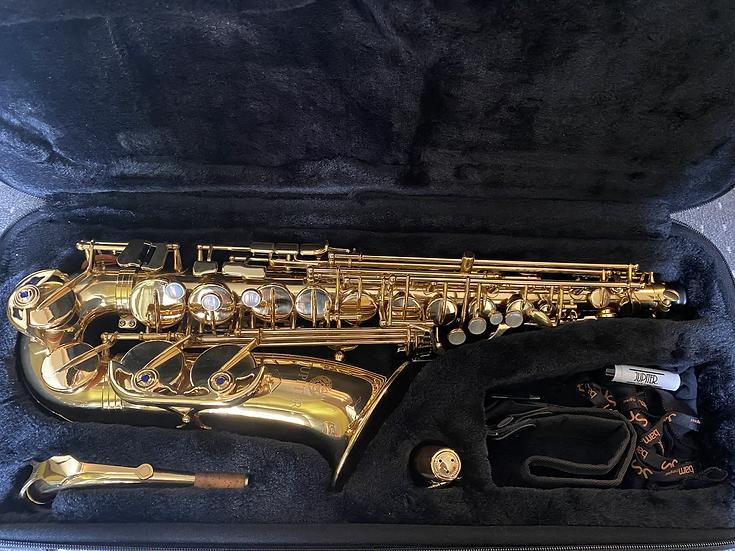 *SOLD* Jupiter JAS-769 II Intermediate Alto Saxophone