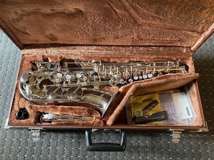 Yamaha YAS-23S Silver Alto Saxophone