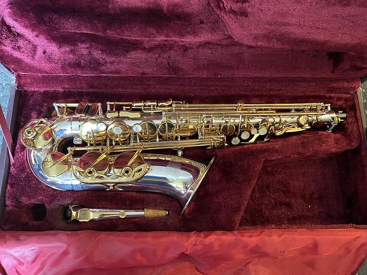 Jupiter Artist JAS-969 Alto Saxophone - silver!