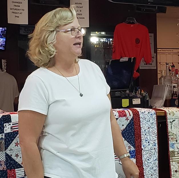 Nancy-Pres & speaker