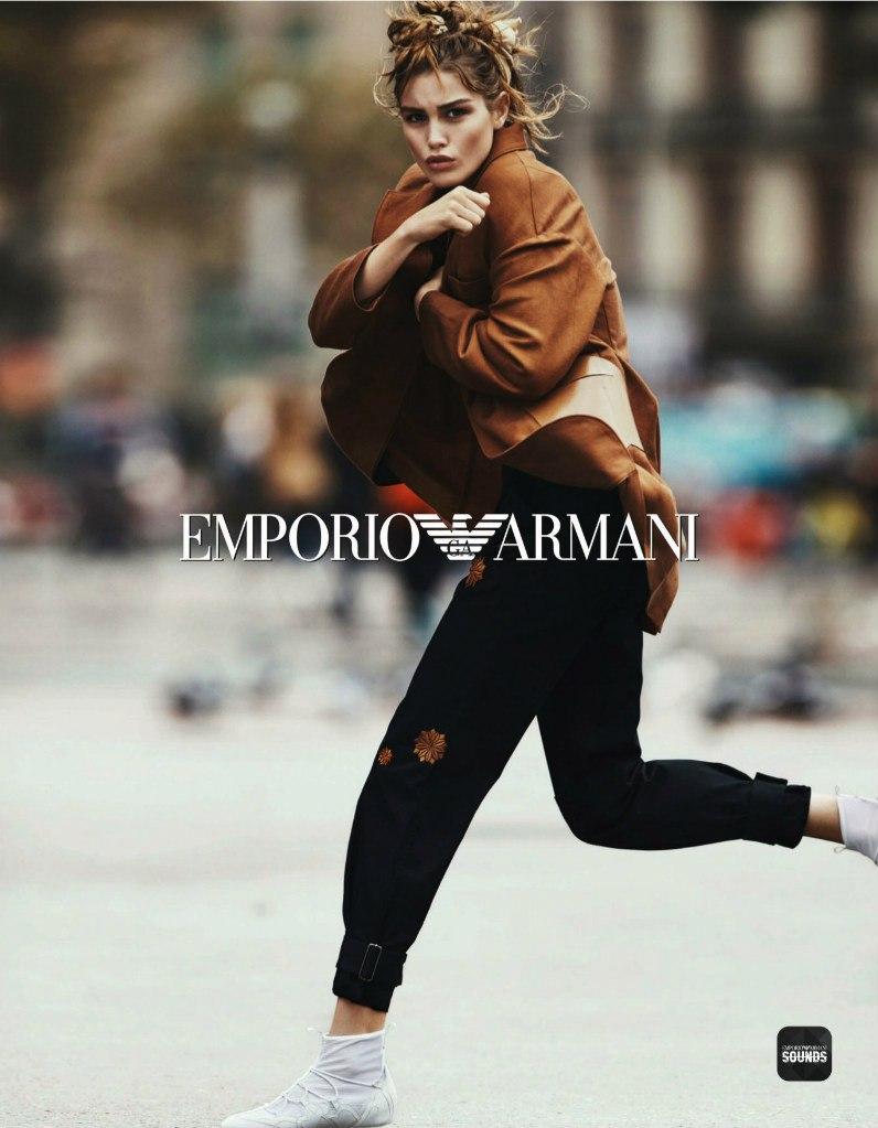 c527915c3807 Emporio Armani Spring Summer 2016 Campaign