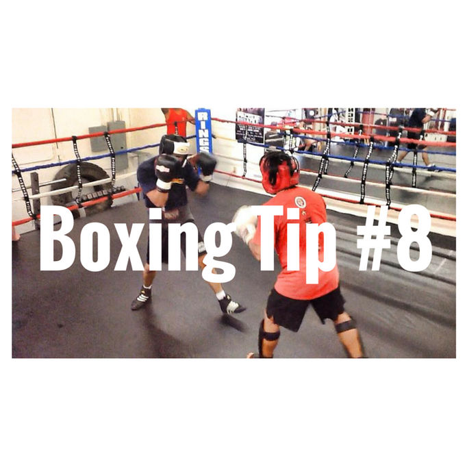 BOXING TIP #8: JAB FROM THE LEVEL OF YOUR FACE