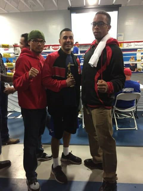 Great Night of Boxing With My Guys