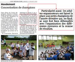 29 juin 2016 - Article Houdemont