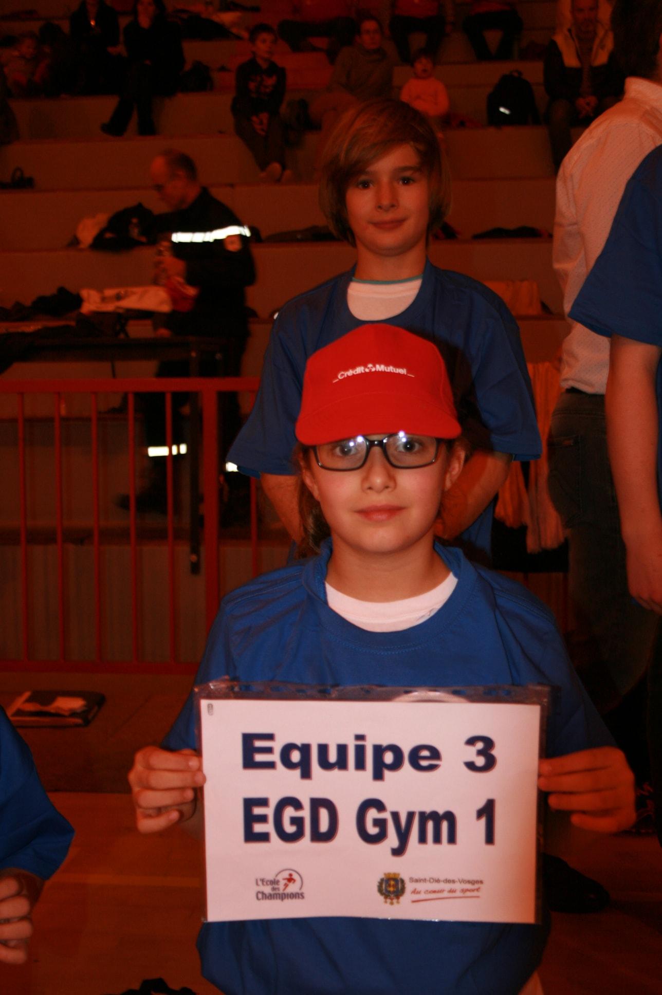 Finalistes EGD Gym 1
