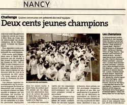 26 juin 2013 - CU Grand Nancy