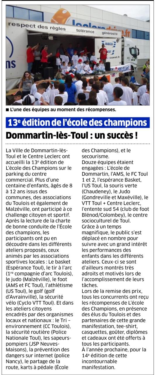 21 mai 2014 - Dommartin-les-Toul