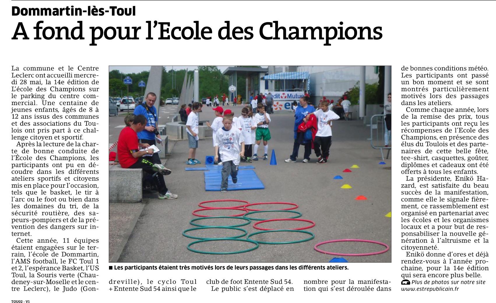 27 mai 2015 - Dommartin-les-Toul
