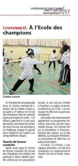 30 mars 2016 - Provins