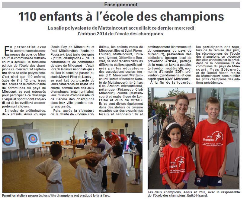 24 septembre 2014 - Mirecourt