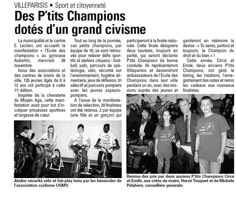 27 novembre 2013 - Villeparisis