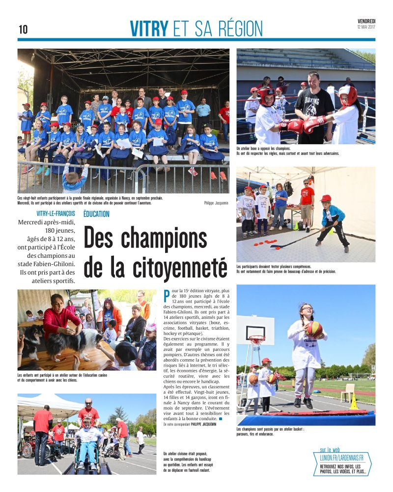 article l'Union 12052017