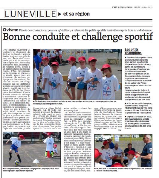 13 mai 2015 - Lunéville