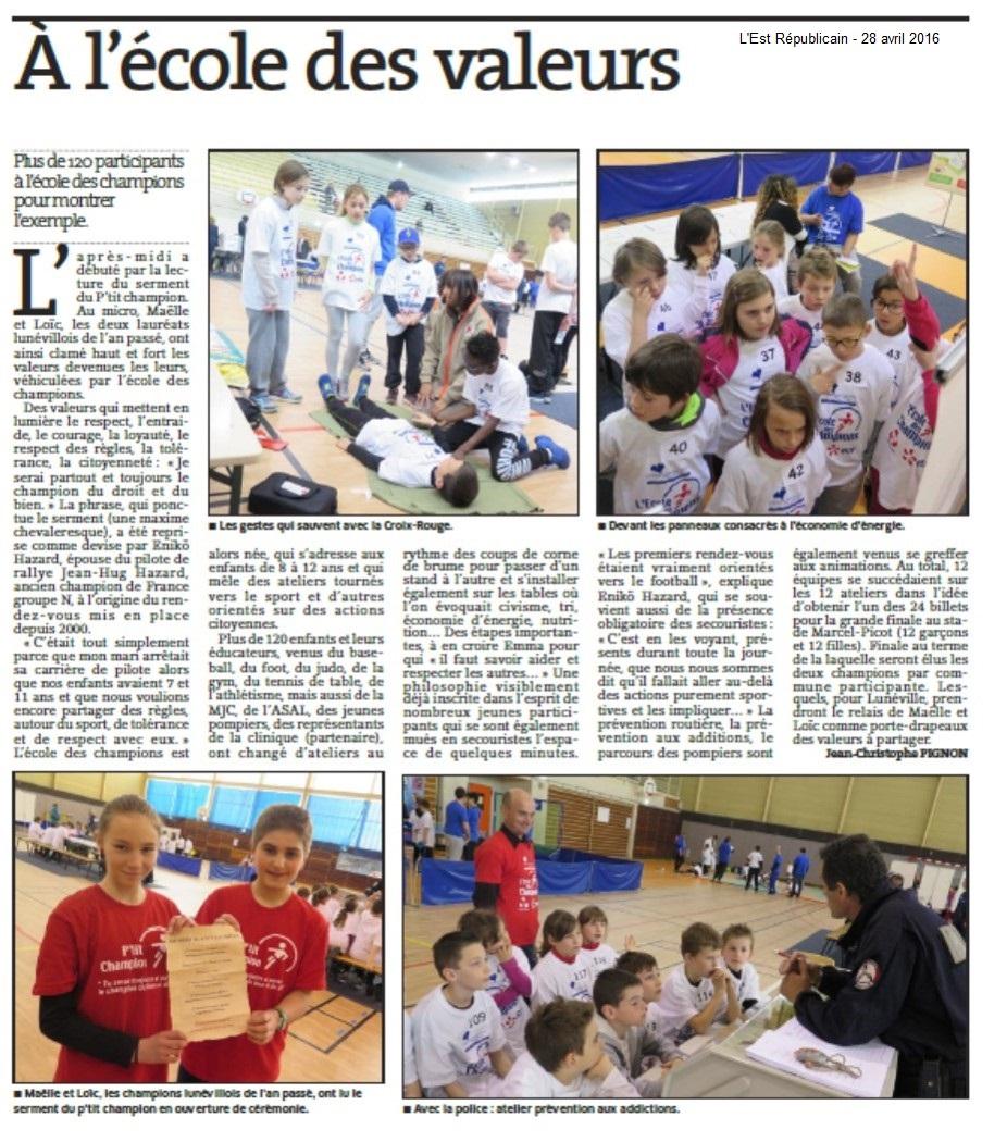 27 avril 2016 - Lunéville